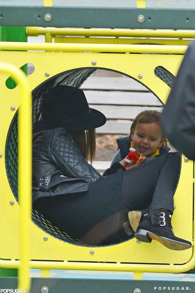 Miranda Kerr and Flynn Soak Up Their Final Adorable NYC Park Day