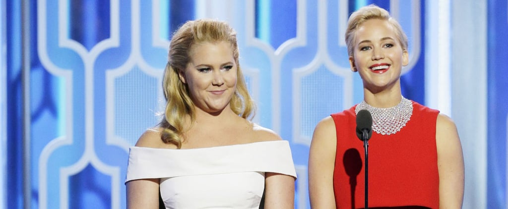 Amy and Jennifer Finish Each Other's Sentences at the Golden Globes