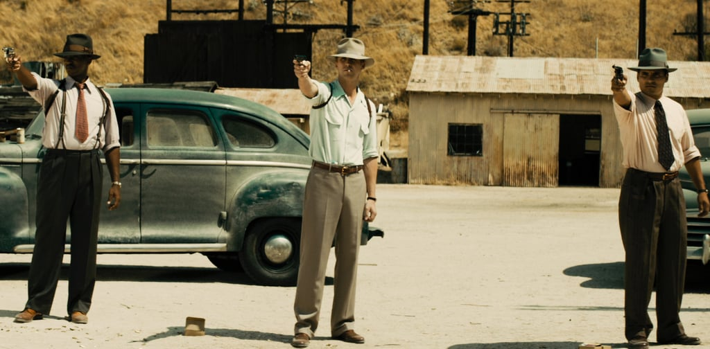 Anthony Mackie, Ryan Gosling, and Michael Peña in Gangster Squad.