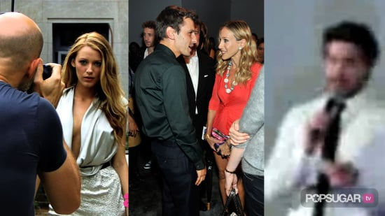 Video of Blake Lively in Sexy Photo Shoot, Sarah Jessica Parker at New York Fashion Week, and Zac Efron in Madrid For Charlie St