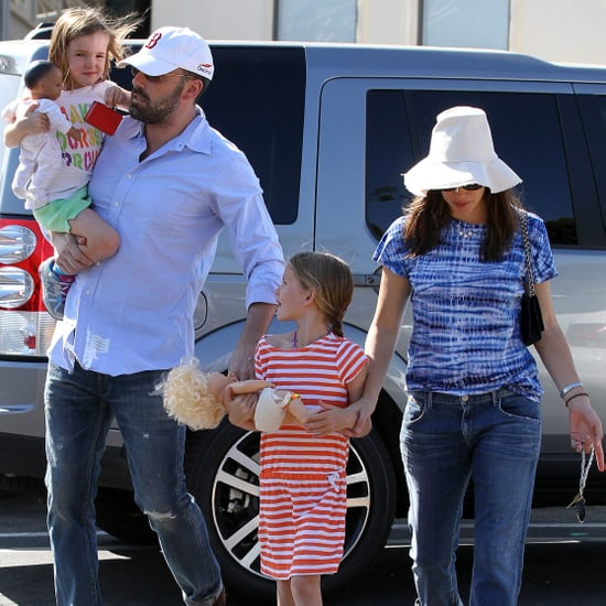 Ben Affleck and Jennifer Garner Out With the Girls in LA