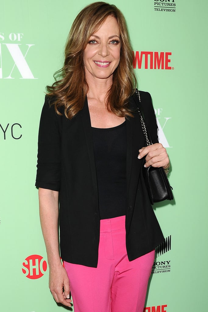 "Allison Janney joined The Duff as Mae Whitman's mom. Whitman is the main character in the movie about a ""Designated Ugly Fat Friend."" Romany Malco, Robbie Amell, Bella Thorne, and Ken Jeong are also starring."