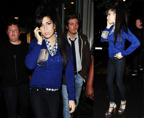 Photos of Amy Winehouse and Tyler James Out In London