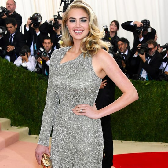 Kate Upton Engagement Ring Pictures at Met Gala 2016