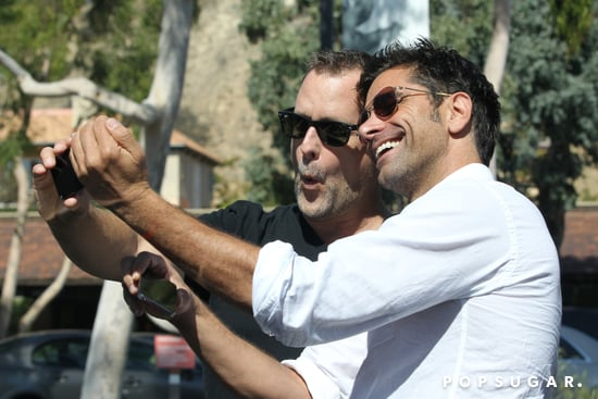 In September 2013, John Stamos and Dave Coulier took snaps together in LA.