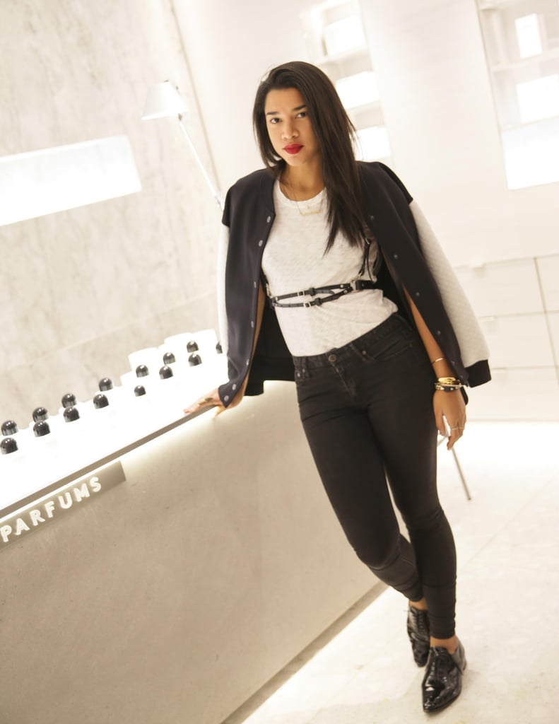 Hannah Bronfman helped launch Barneys beauty floor, The New Foundation, in a downtown pairing.