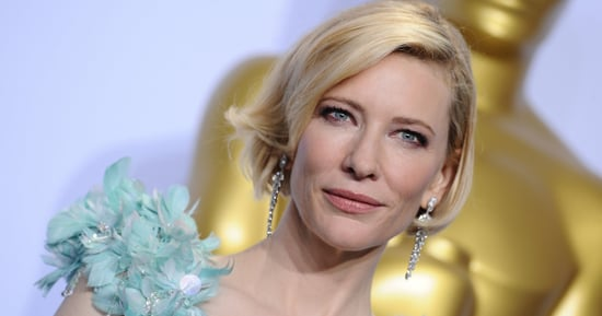 Cate Blanchett Now Has Pink Hair, In Case You Didn't Notice