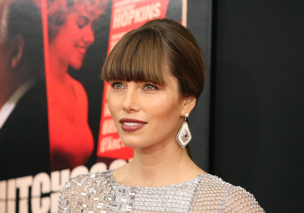 Scarlett Johansson and Jessica Biel Debut Hitchcock in NYC