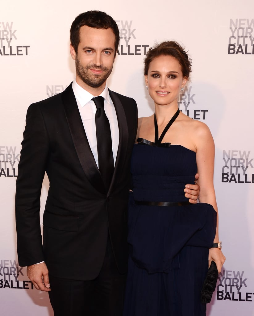 Benjamin and Natalie glammed up for the New York City Ballet's 2012 Spring Gala in May 2012.