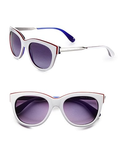 Marc by Marc Jacobs Layered Plastic Modified Cat-Eye Sunglasses ($120)