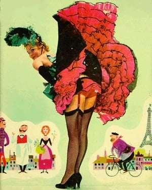 A Fabby Halloween: Cancan Girl