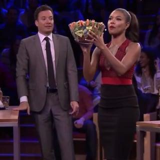Gabrielle Union Plays Random Object Shootout on Tonight Show