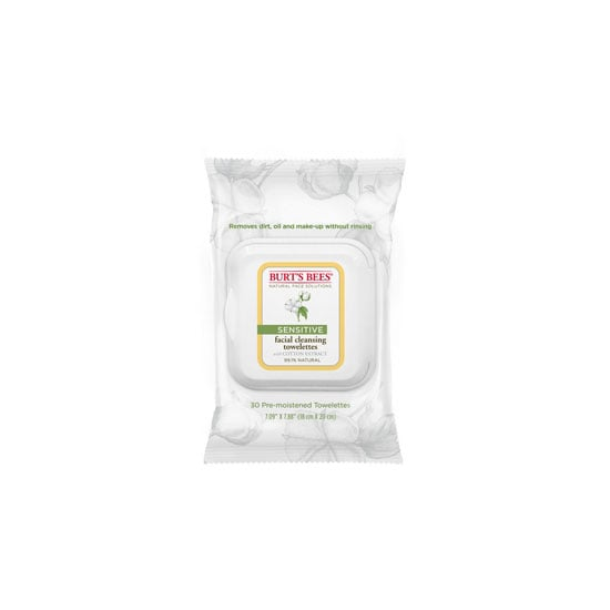 Burt's Bees Sensitive Facial Cleansing Towelettes, $9.95