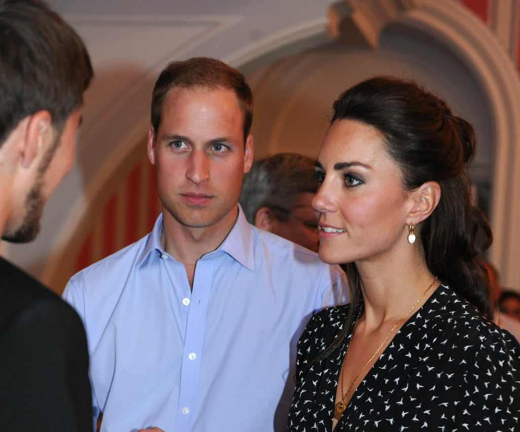The Duke and Duchess of Cambridge chatted in Canada.