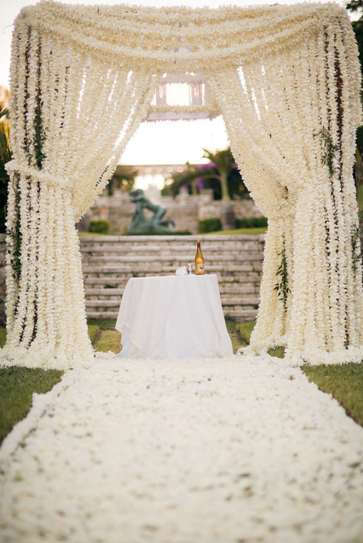 30 Unique Altar Alternatives For Outdoor Weddings