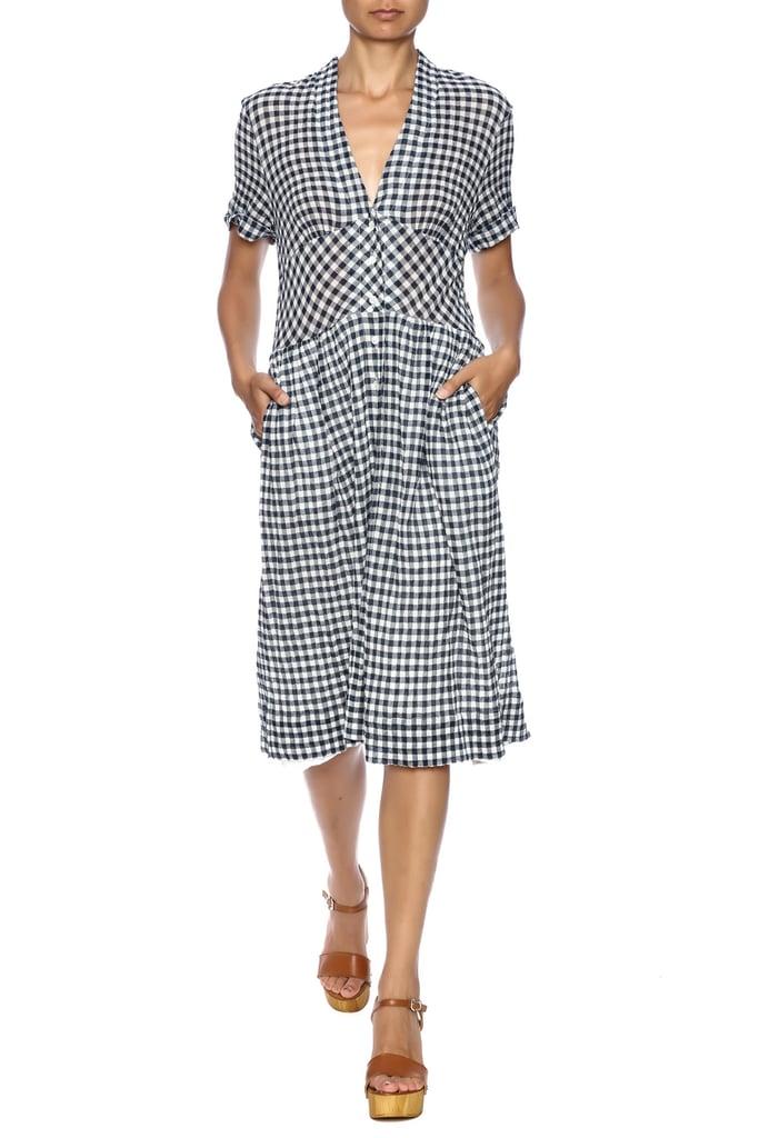 Sea Gingham Dress ($425)