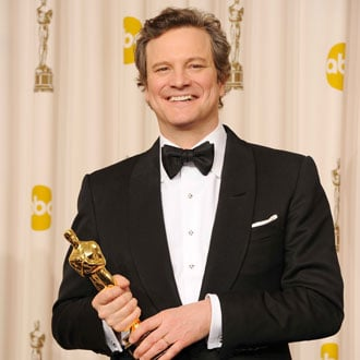 Colin Firth Talks About the Royal Wedding in the Oscar Press Room 2011-02-27 23:55:02