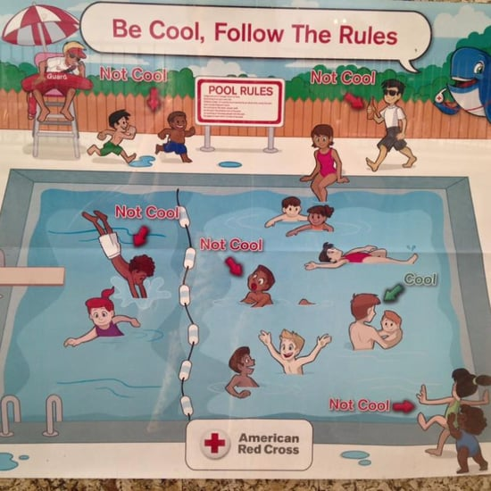 Red Cross Removes Racist Safety Poster From Public Pools
