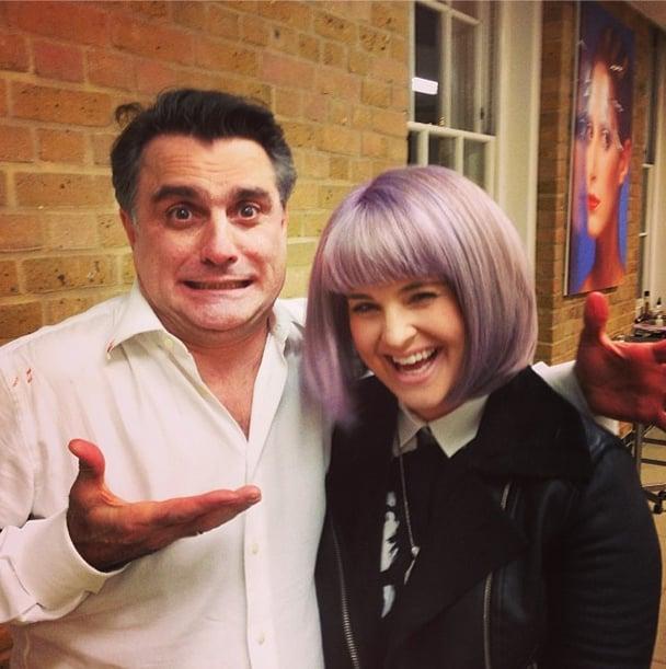 Kelly Osbourne got a fresh new bob for the New Year. Source: Instagram user kellyosbourne