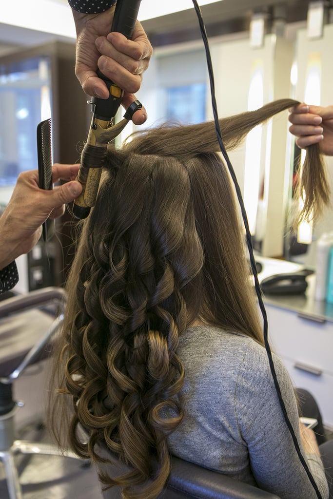 Step One: Beach Waves Under a Veil For the Ceremony