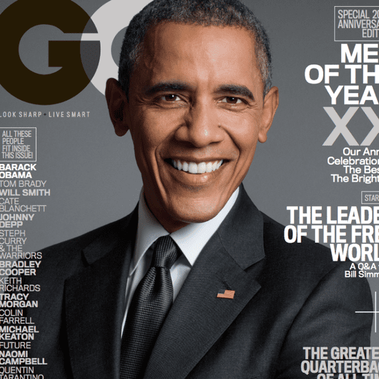 Barack Obama GQ Magazine December 2015 Quotes