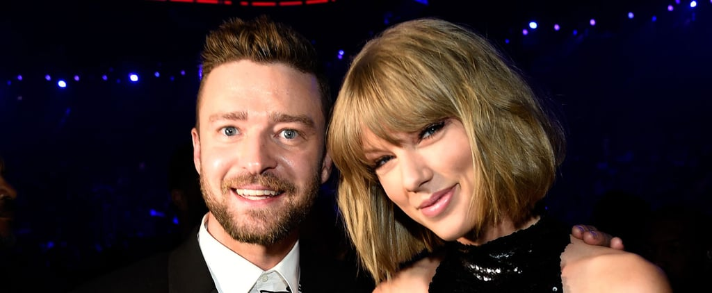 Justin Timberlake Makes a Sexy Appearance at the iHeartRadio Awards to Support Taylor Swift
