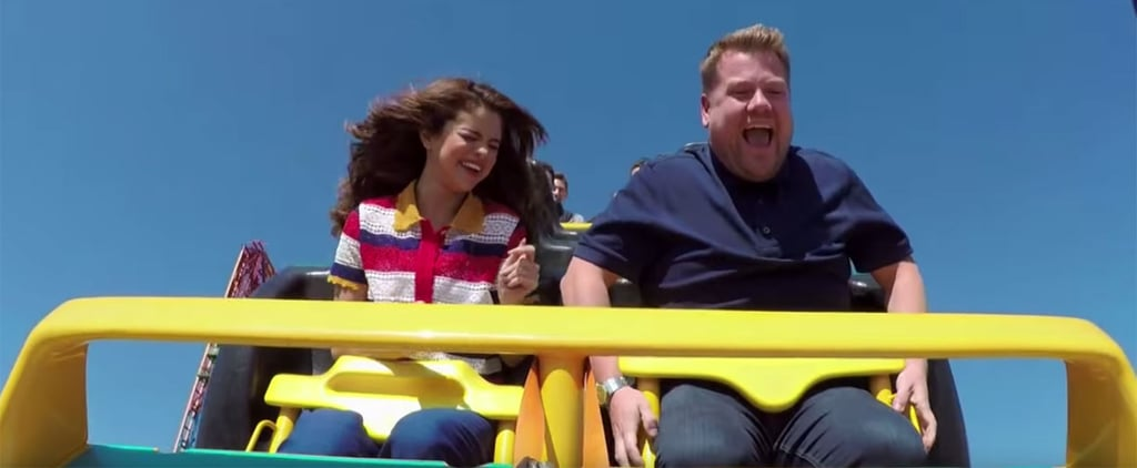 James Corden Takes His Carpool Karaoke Session With Selena Gomez to New Heights (Literally)
