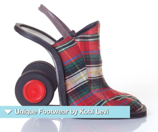 Crazy Shoe Designs by Kobi Levi Including Tongue and Dog Heels