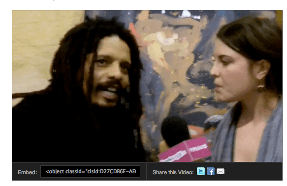 Meeting Rohan Marley