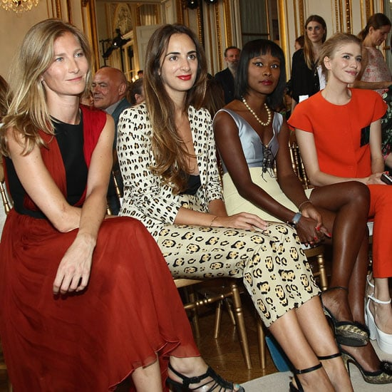 Pictures of Celebrities Front Row at 2013 Paris Haute Couture Fashion Week: Lea Michele, Jessica Alba, Olivia Palermo & More