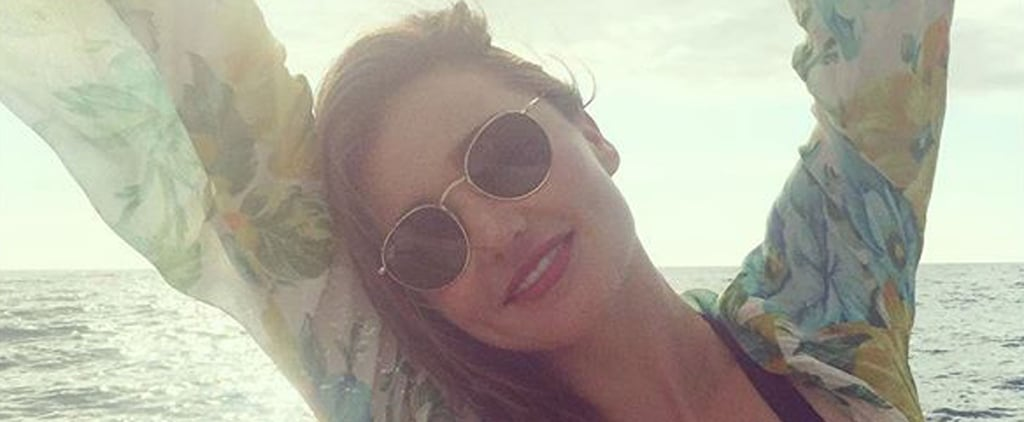 Miranda Kerr's Dreamy Boat Day Will Make You Wish Summer Never Had to End
