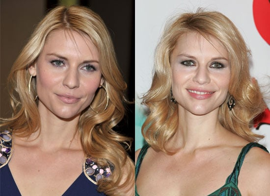 Which Makeup Look Is Better on Claire Danes?