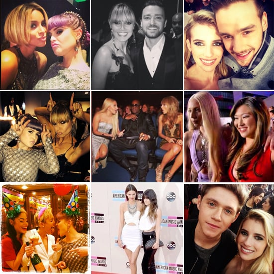 The Cutest Candids From the AMAs
