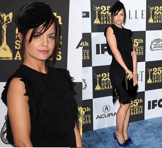 Mena Suvari at 2010 Independent Spirit Awards