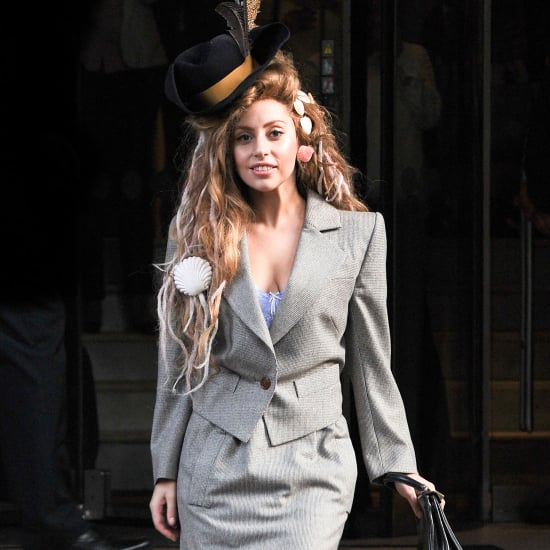Lady Gaga Dressed Like Galliano