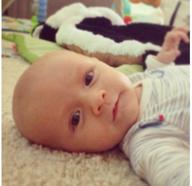 "Kristin called Jax her ""little peanut."" Source: Kristin Cavallari's Official App"