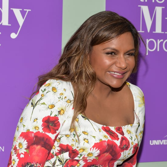 Mindy Kaling's Dolce and Gabbana Dress