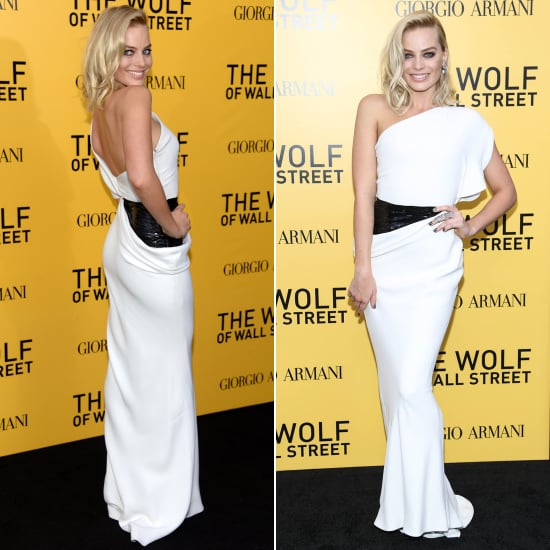 Margot Robbie in Armani Prive | Wolf of Wall Street Premiere