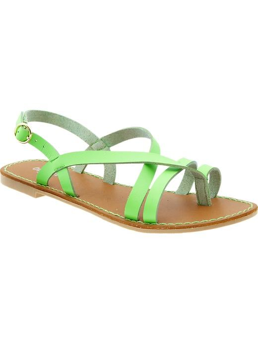 Match a neon pedicure with an equally vivid shade like this bright Old Navy find ($25).