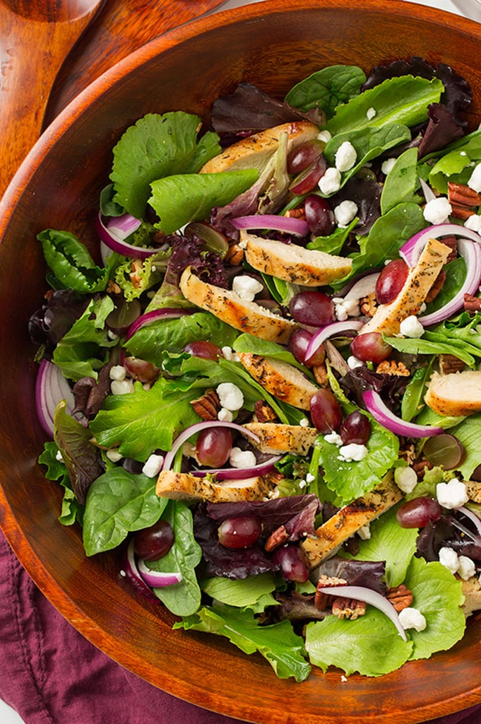 Grilled Chicken and Grape Salad With Goat Cheese