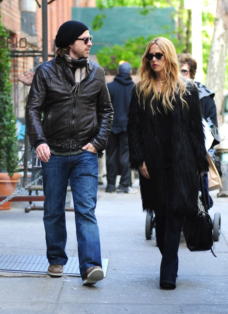 Rachel Zoe and Rodger Berman took a trip to NYC with Skyler after the White House Correspondents' Dinner in Washington DC.