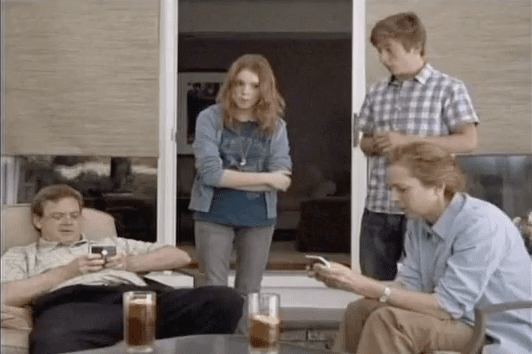 Verizon Commercial Features Parents Talking About Facebook and Twitter