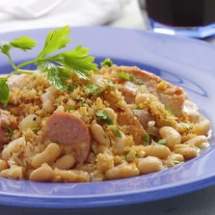 Fast, Easy, Healthy Recipe For Chicken Cassoulet