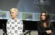Michelle Williams and Mila Kunis got together at a panel promoting Oz: The Great and Powerful at Comic-Con.
