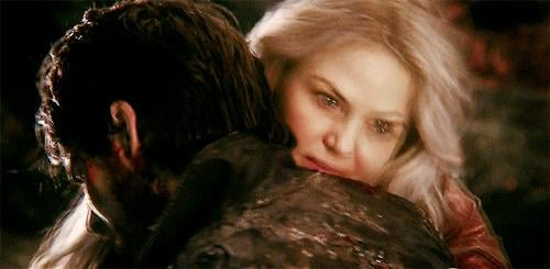 But that doesn't stop Emma from going to the Underworld to get him back.