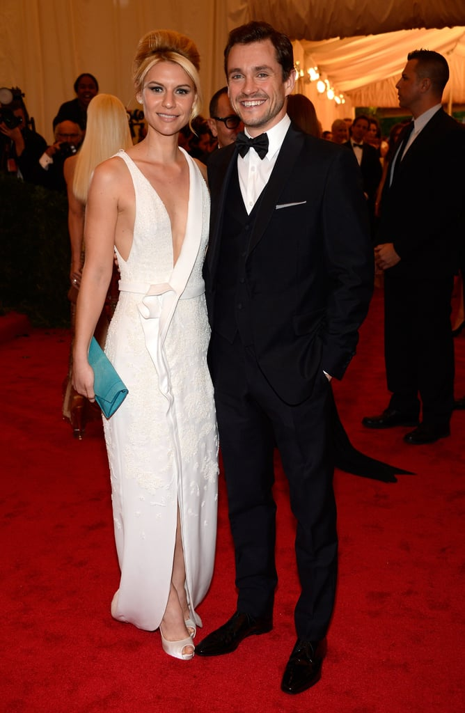 Claire Danes attended the Met Gala with Hugh Dancy.