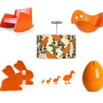 Orange Baby Room Nurseries