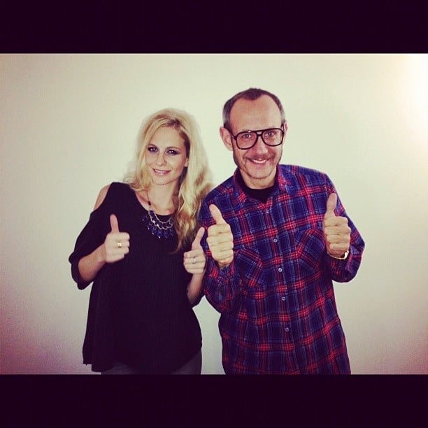 Poppy Delevingne modeled for Terry Richardson. Source: Instagram user poppydelevingne