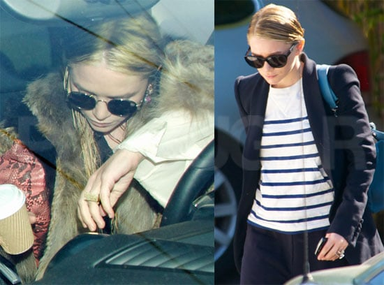 Mary-Kate and Ashley Olsen Touch Up Their Famous Locks and Rock Stylish Shades