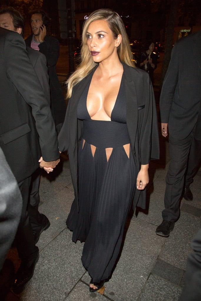Kim Kardashian at the Mademoiselle C Premiere